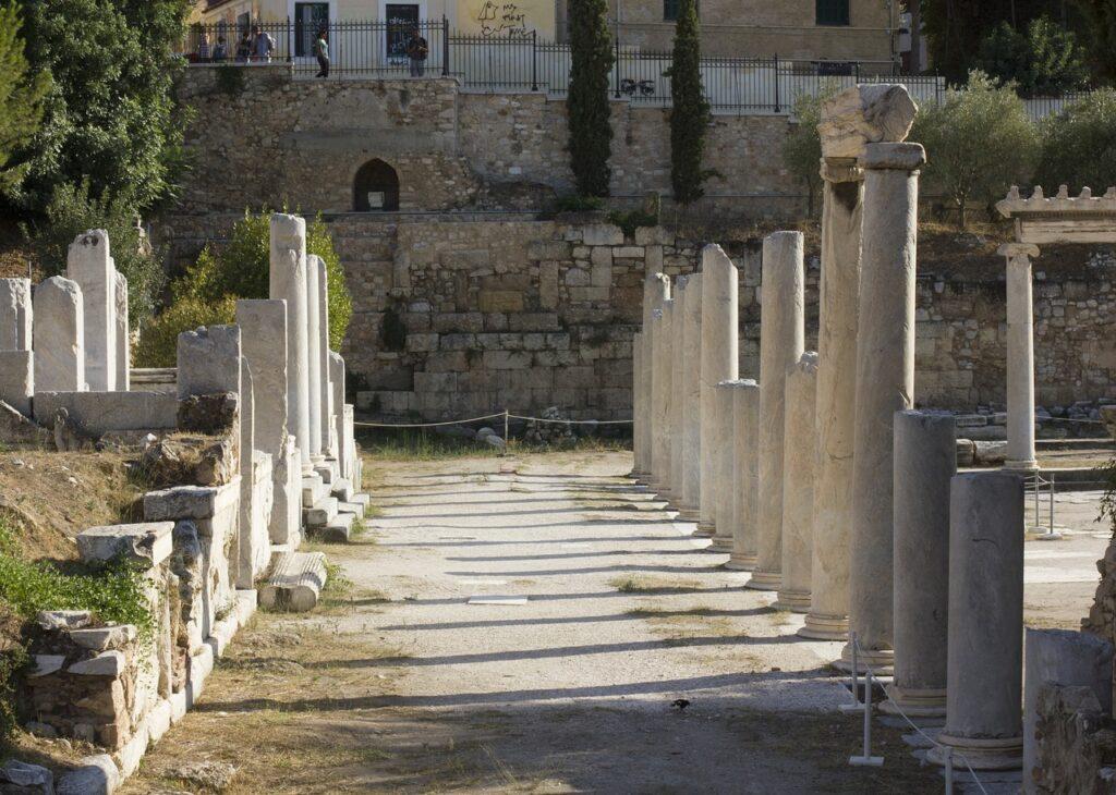 Agora Athens Greek Art Ancient  - IvanPais / Pixabay
